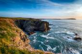 Steep Cornish Cliffs — Stock Photo
