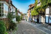 Cobbled Streets in Rye — Stock Photo