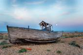 Shipwreck by Moonlight — Stock Photo