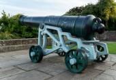 Um velho canhão — Fotografia Stock