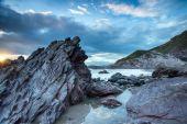 Rugged Cornwall Coast — Stock Photo