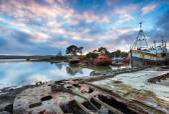 Abandoned Boats — Stock Photo