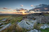 Alex Tor on Bodmin Moor i — Stock Photo