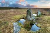 Stone Circle on Bodmin Moor — Stock Photo