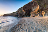 Polpeor Cove at Lizard Point — Stock Photo