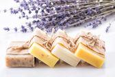 Lavander soap — Stock Photo