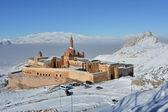 Ishak Pasha Palace - morning view — Stock Photo