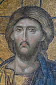 Mosaic of Jesus Christ in Istanbul — Stockfoto
