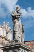 Saint Peter - sculpture, Vatican  — Foto de Stock
