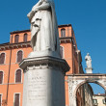 Постер, плакат: Verona Dante monument
