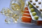 Pharmazeutische Produkte (Pillen) — Stockfoto