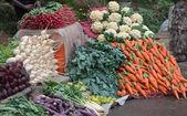 Vegetables sale — Stock Photo