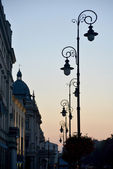 Ulice starého Lublin — Stock fotografie