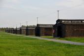 Majdanek concentration camp - barracks — Stock Photo