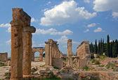 Ancient civilization -  Hierapolis — Stock Photo