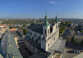Top view of Lublin, Poland — Stock Photo