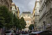 Czech primary school building, Prague — Stock Photo