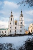 Cathedral of Holy Spirit, Minsk, Belarus — Stock Photo