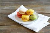 Fresh and sweet macaroon — Stock Photo