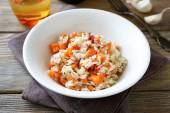 Risotto with carrots — Stock Photo