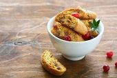 Cookies with raisins — Stock Photo