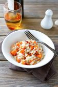 Steamed rice with carrots and spices — Foto de Stock