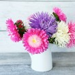 Bouquet of colorful asters — Stock Photo #57878045