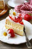 Gâteau sucré — Photo