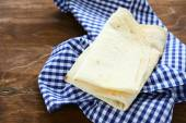 Pita bread on a napkin — Stock Photo