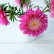 Bouquet of pink asters — Stock Photo #59884751