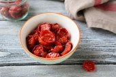 Nutritious sun dried tomatoes — Stock Photo