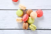 Fresh delicious sweetness on the boards — Stock Photo