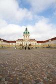 Palác Charlottenburg, Berlín, Benátky — Stock fotografie