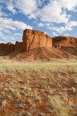 Scenic cliff in the Sossusvlei park, Namibia — Stock Photo