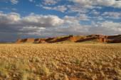 Scenic cliff landscape in Namibia — Stock Photo
