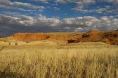 Scenic namibian cliff — Stock Photo