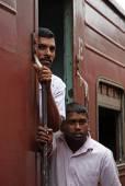 In the lankan train — Stockfoto