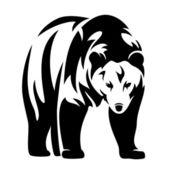 Bear design — Stock Vector