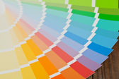 Color chart guide — Stockfoto