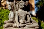 Buddhist Sculpture stone in Kathmandu Nepal — Stock Photo