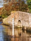 UK Countryside scene Eynsford Bridge in Kent — Stockfoto