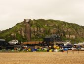 Hastings Sussex — Stock Photo