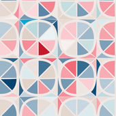 Seamless background with abstract geometric shapes — Stockvektor