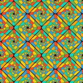 Fond transparent avec les formes géométriques abstraites — Vecteur