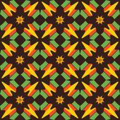 Seamless background with abstract geometric shapes — Cтоковый вектор