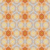 Nahtlose Hintergrund mit abstrakten geometrischen Formen — Stockvektor