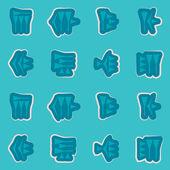 Seamless background with cuneiform — 图库矢量图片