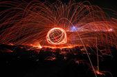 Fiery Streaks — Stock Photo