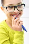 Smile of a child — Stock Photo