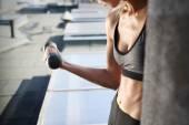 Hand muscle training — Stock Photo